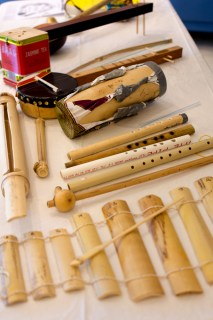 Handmade Thai instruments