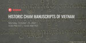 Cham Manuscripts
