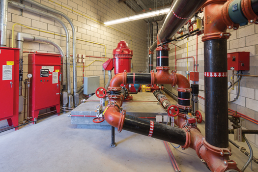 piping for fire pumps (image)