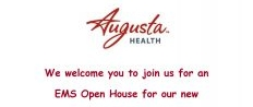 Augusta Health EMS Open House; New Emergency Department
