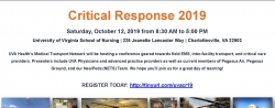 UVA Critical Response Conference - Saturday, October 12, 2019