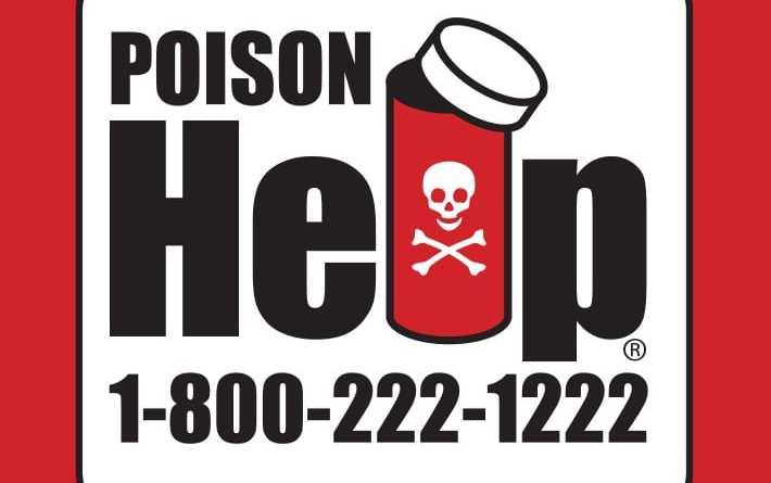 Blue Ridge Poison Control – Provides Magnets, Stickers and Keychain Tags for Agencies to Distribute to Public