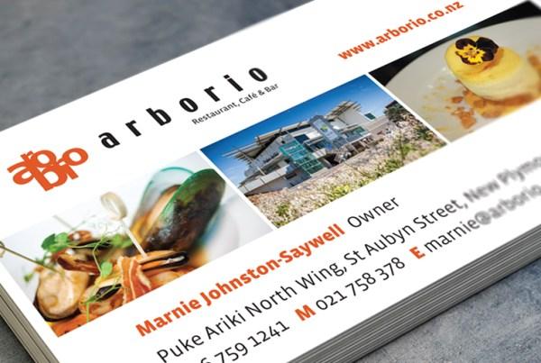 Arborio business cards