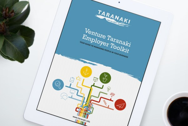 Venture Taranaki Employer Toolkit
