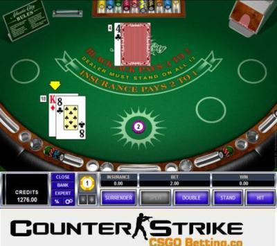 CS GO Atlantic City Blackjack