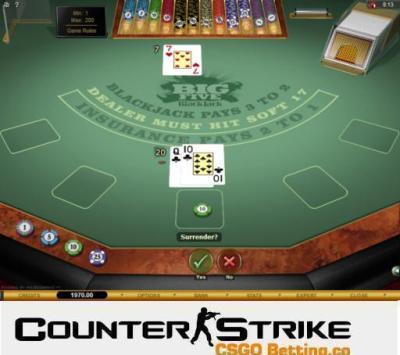 CS GO Big Five Blackjack