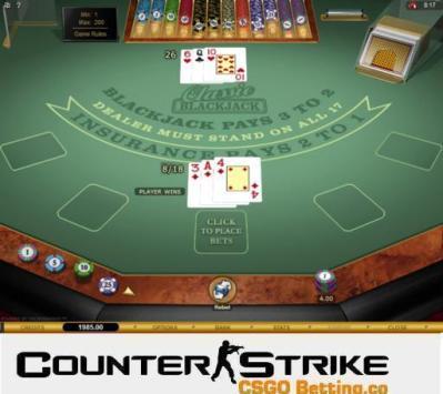 CS GO Classic Blackjack Games