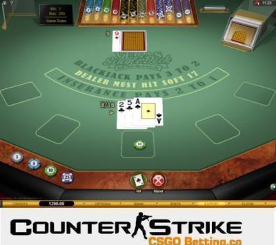 CS GO Vegas Single Deck Blackjack Games