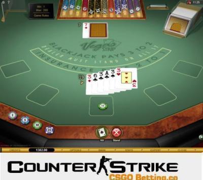 CS GO Vegas Strip Blackjack Games