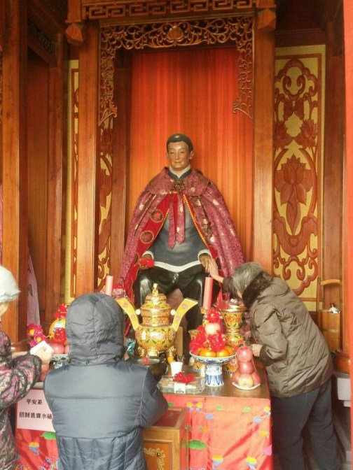 Granny Wang the Third at Tianjin's Temple of the Heavenly Empress