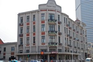 "The State Hotel, in the ""Little White House"" area of Tianjin, also, I believe, the site for the Victoria Cafe (please correct me if I am wrong) - photo by C.S. Hagen"