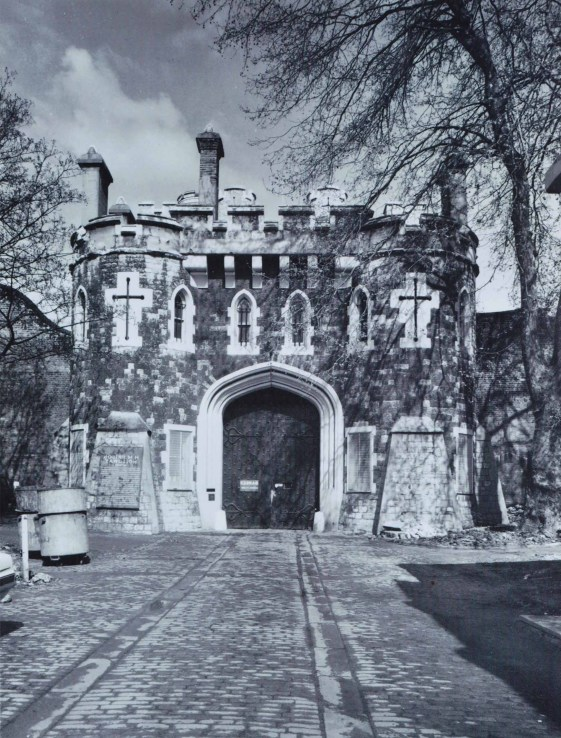 Gates of Holloway Prison, London