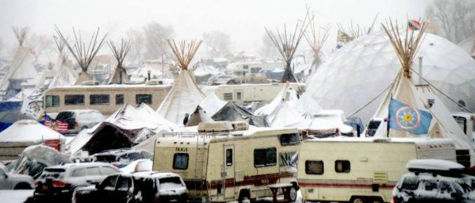 Oceti Sakowin - wintry wonderland - photo by Terry Wiklund