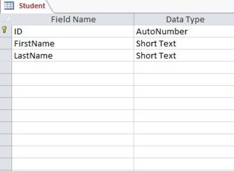 Connect MS Access Database to C# Windows Form Application