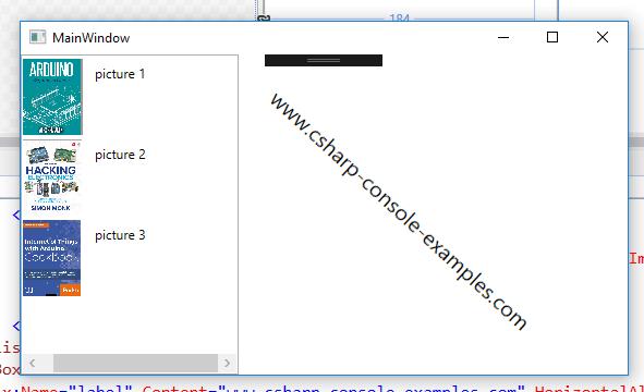image source binding wpf – C# Programming Example