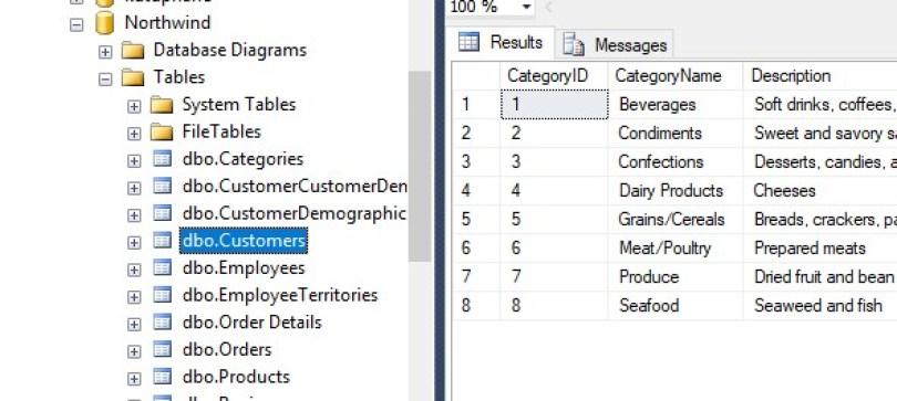 C# – Fill Listbox from Sql Server Database – C# Programming