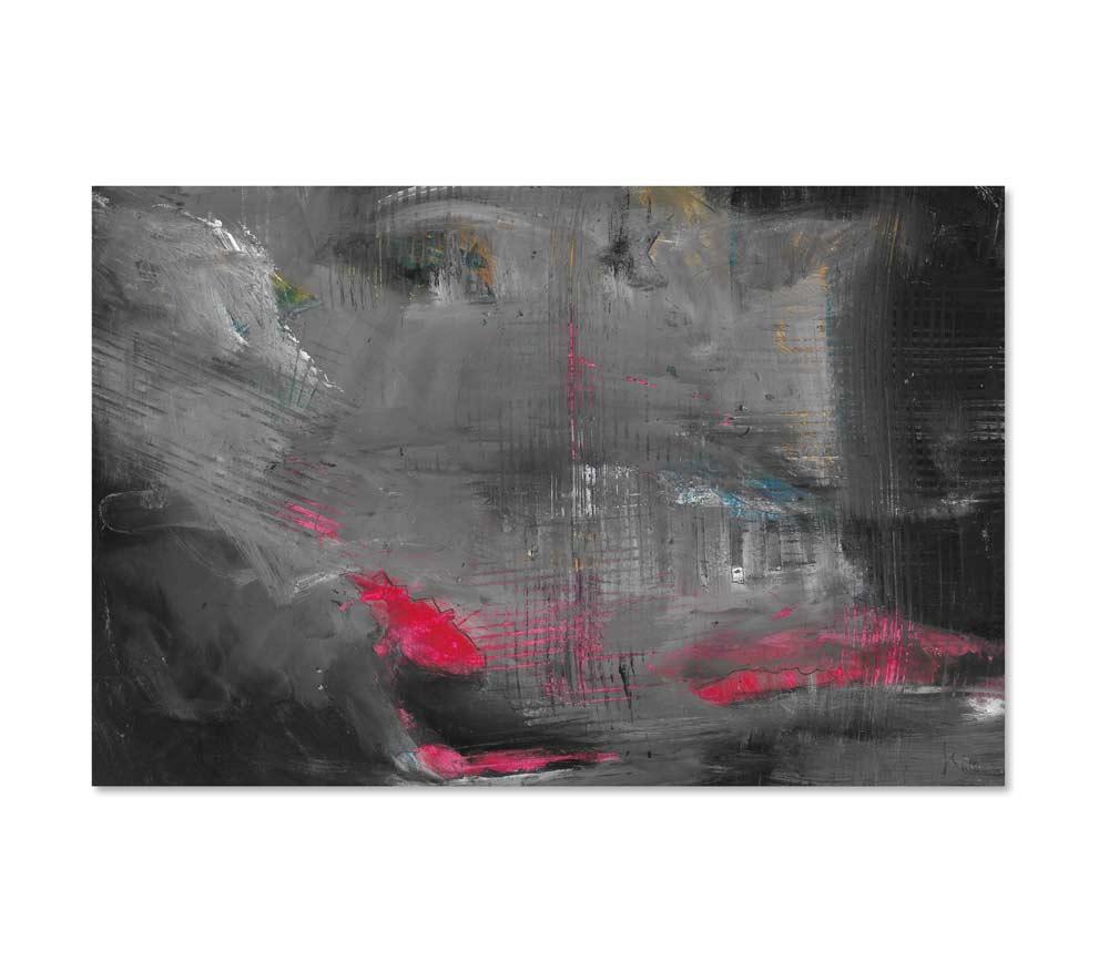 Landscape - Red - Acrylbild