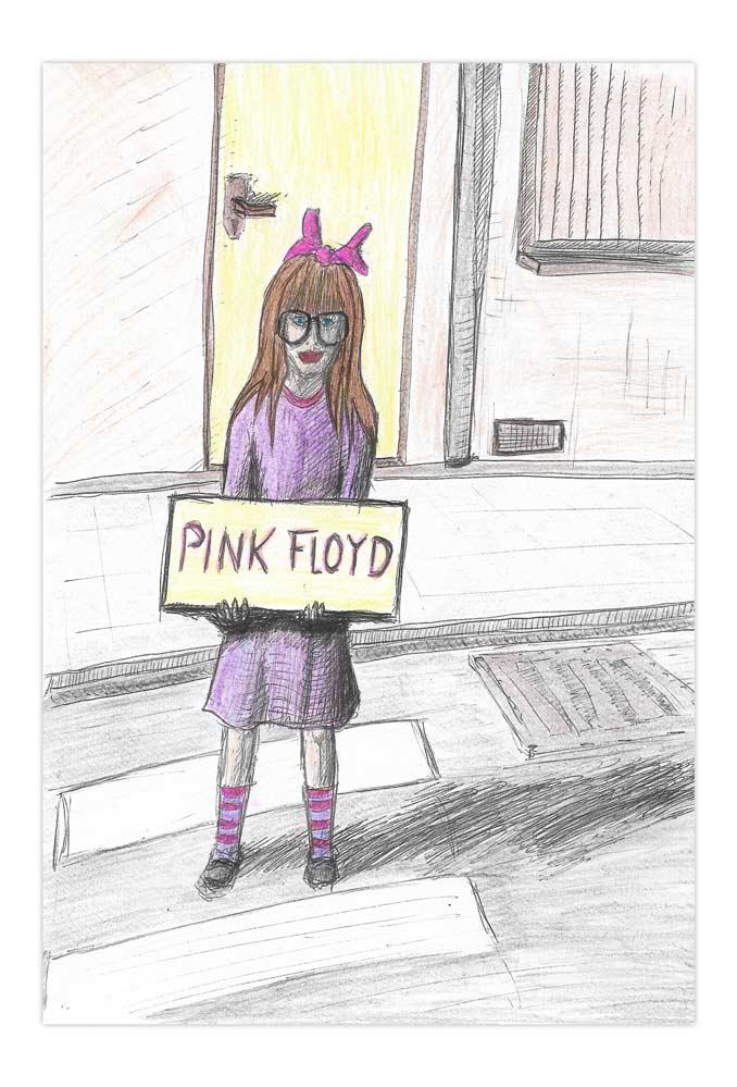 Pink Floyd Mädchen 1