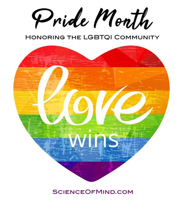 Love Wins - pride month honoring the LGBTQI Community!