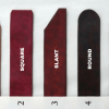 Crimson Serpents Leather Goods strap end options