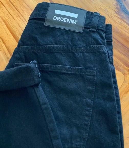 Dr. Denim Nora high waist mom jeans in black.