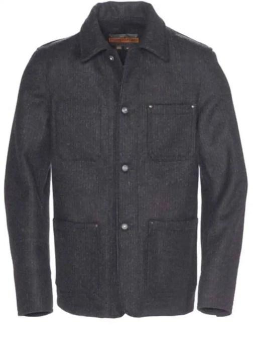 Schott NYC Cipher Wool Chore Jacket