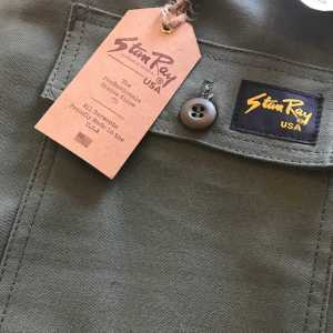 Stan Ray Slim Fatigue Pants OD Sateen