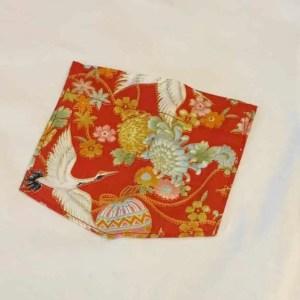 Naked and Famous Denim Tsuru Festival White Pocket Tee