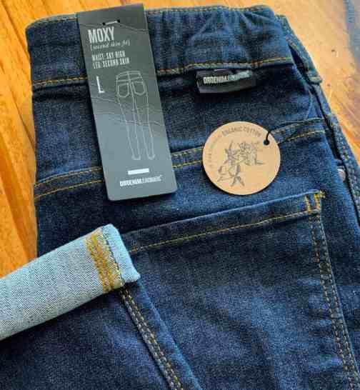 Dr. Denim Moxy Organic Dank Raw High Waisted Skinny Jeans