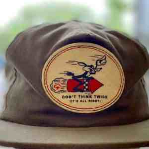 The Ampal Creative Don't Think Twice Strapback Hat