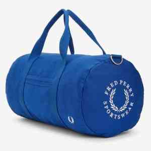 Fred Perry L5277 Archive Embroidery Duffle Bag