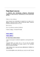 PASSPORT Jeunes Doc