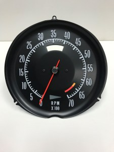 1972 1973 1974 Corvette Tachometer Assembly 6500 RPM