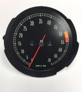 1965 1966 1967 Corvette Tachometer Assembly LOW RPM GM #6412222