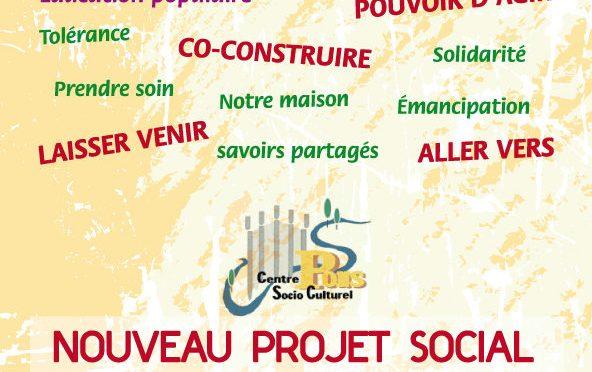 Nouveau projet social !