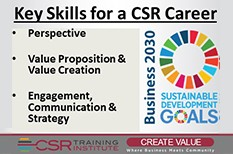 Nine CSR Skills- What you need and why
