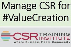 Know your Why: Five Steps to Managing CSR for Value