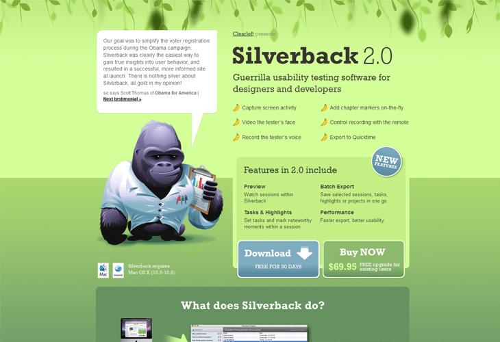 silver back app