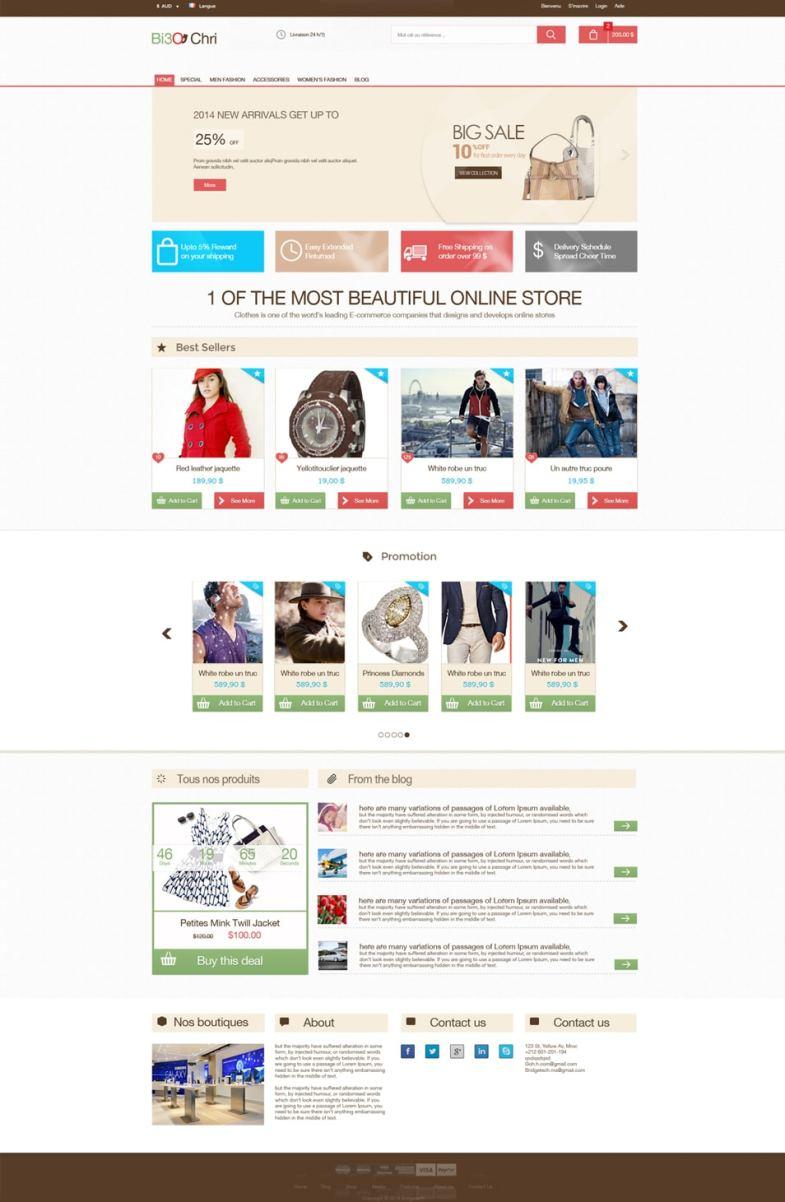 Free E-commerce Template PSD Бесплатные шаблоны для интернет-магазина psd - Free E commerce Template PSD - Бесплатные шаблоны для интернет-магазина PSD