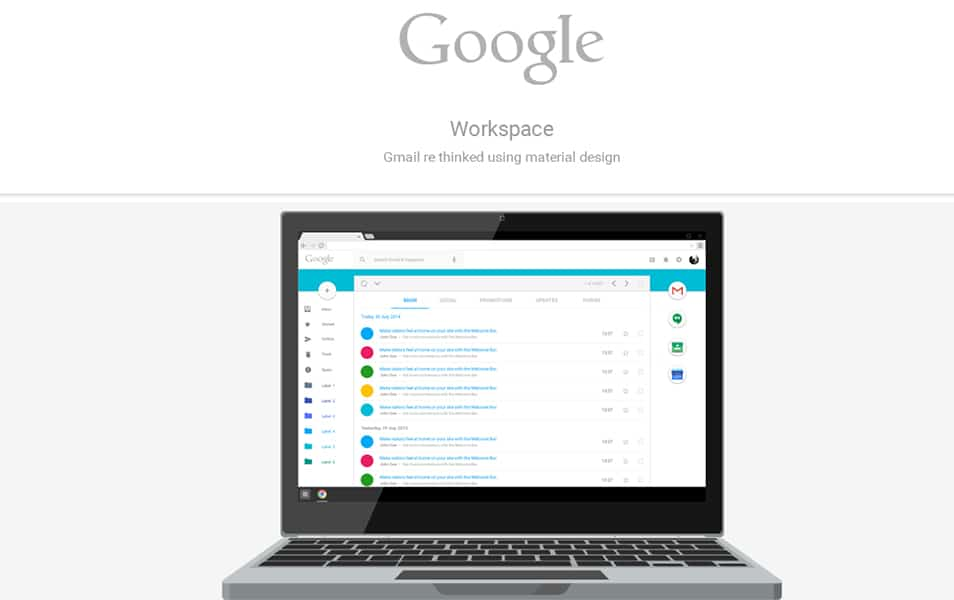 Google Workspace - rethinking Gmail