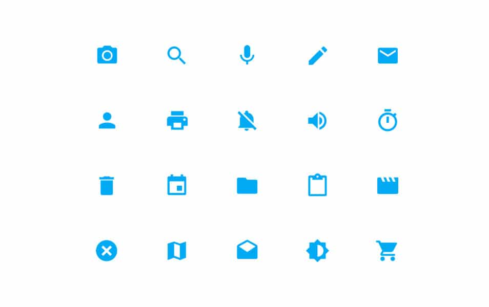System Icons - Material Design