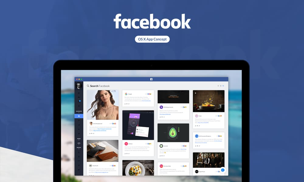 Facebook OS X