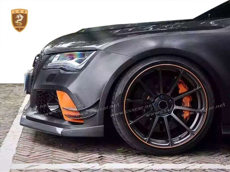 Audi RS7 ABT Carbon Fiber Front Lip Body Kits