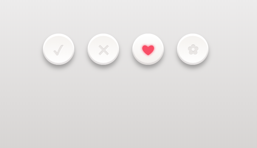 3D CSS3 Buttons Design with Hover And Click Effect