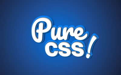 3D Pure CSS Typography Text with Shadow Example