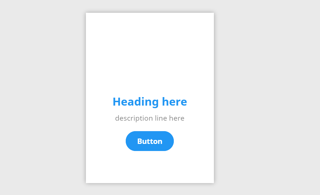 CSS Material Card with Shadow And Hover Effect