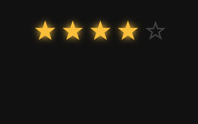CSS Unicode Star Rating: No Image, No Icons