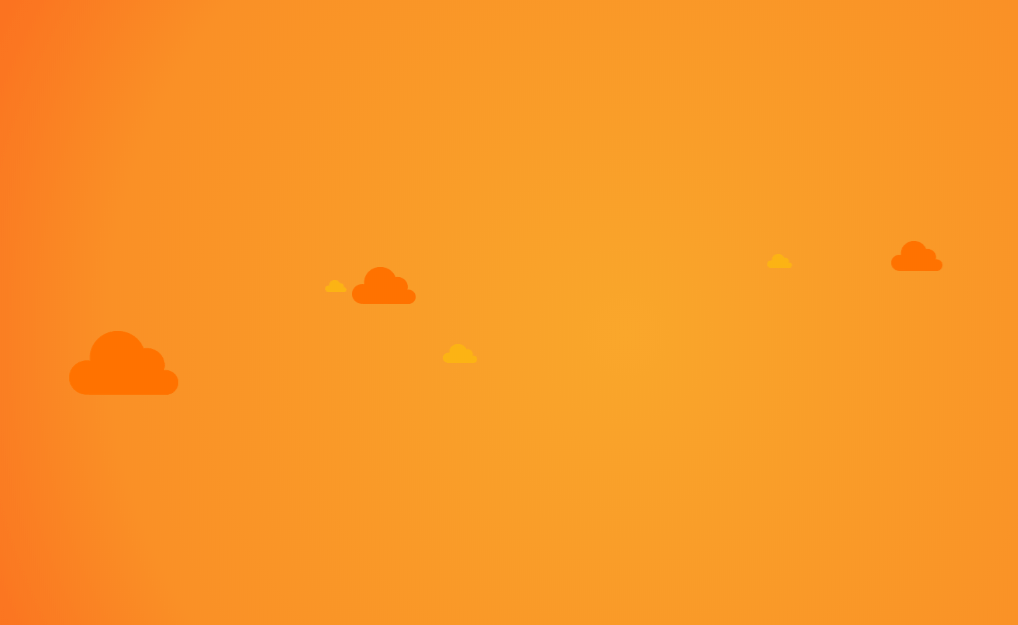 Floating Cloud Background Using CSS Transforms