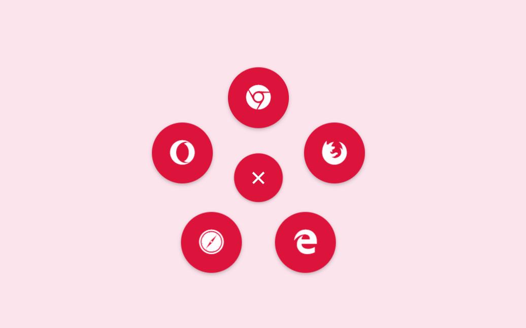 Material Design Circular Navigation Menu Hamburger Icon