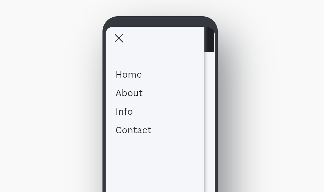 Pure CSS Mobile Nav Menu Beautiful Design